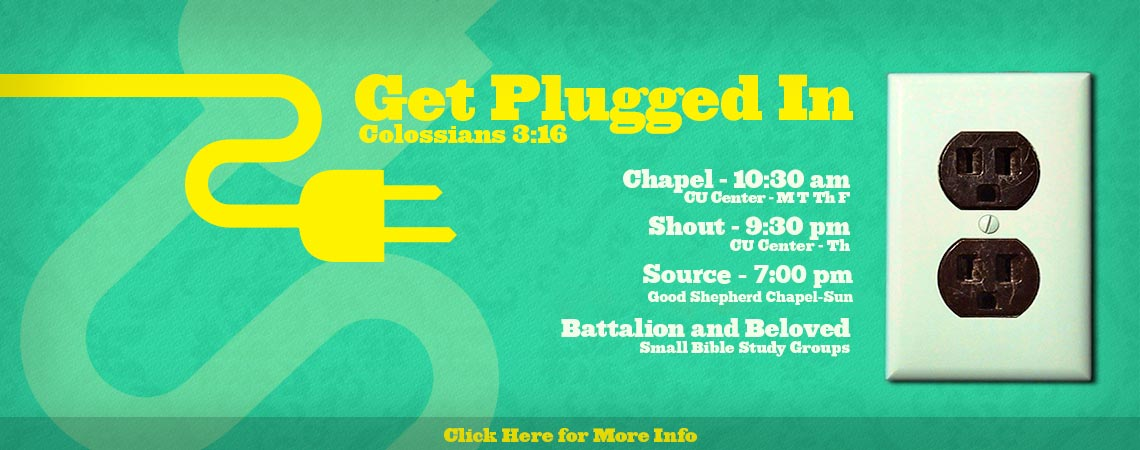 Get Plugged in with Collosians 3:16 - Meeting Schedules
